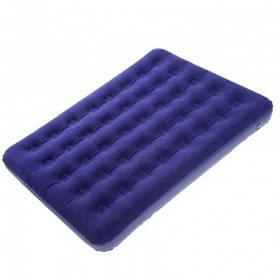 Матрас надувной КЕМПИНГ Double CMG 185x138x22см  полуторный  синий
