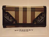Женский  кожаный кошелек BURBERRY -3