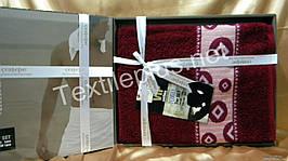 Комплект полотенец Cestepe VIP COTTON 100%  - лицо + баня Турция