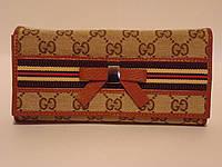 Женский кожаный кошелек GUCCI, фото 1