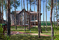 Коттедж 571 кв. м. в сосновом лесу в КГ «Солнечная долина»