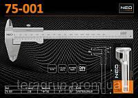 Штангенциркуль механический 150мм., NEO 75-001