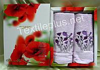 Набор полотенец в подарочной упаковке Poppy 2шт
