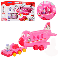 Конструктор для девочек Hello Kitty самолет
