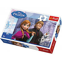 Пазлы для девочки Trefl trefl puzzle frozen 60 эл