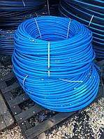 Труба А-пласт D20 PN10 синяя(200)первичка, фото 1
