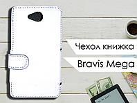 Чехол книжка для Bravis Mega