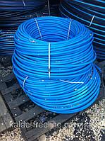 Труба А-пласт D25 PN10 синяя(300)первичка