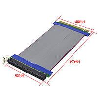 Riser PCI-E 16x - 16x райзер подключение видеокарты