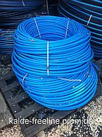 Труба А-пласт D63 PN6 синяя(115)первичка, фото 1
