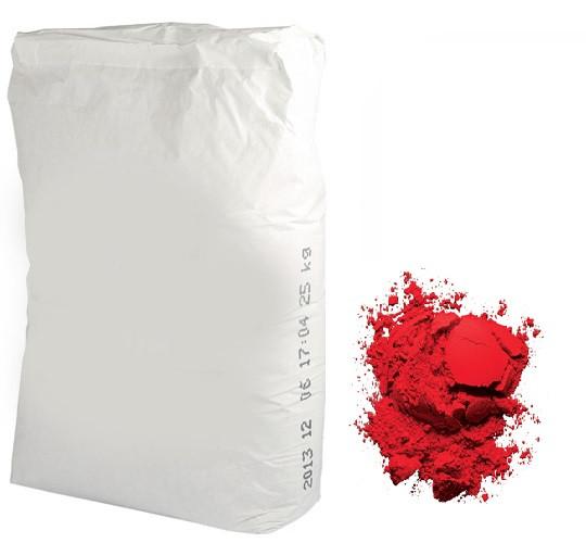 Пигмент красный темный, 25кг
