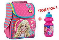 """Рюкзак школьный каркасный  Barbie 553275 H-11, ТМ """"1 вересня"""""""