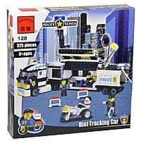 Конструктор Полицейский фургон Brick 128 (325 деталей)