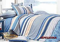 Двуспальный набор постельного белья 180*220 из Сатина №02 KRISPOL™