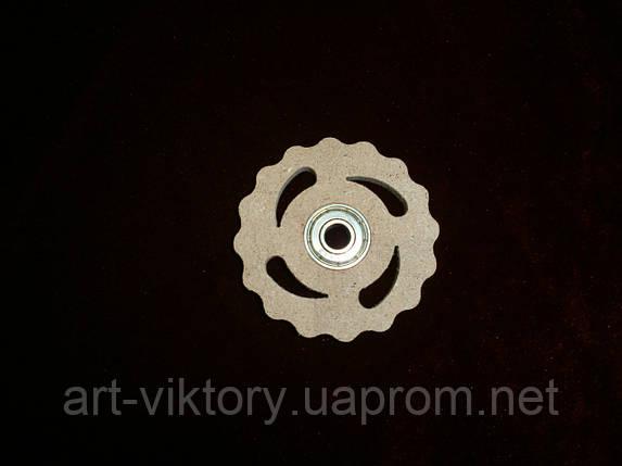 Спиннер игрушка круг (6,5 х 6,5 см), декор, фото 2