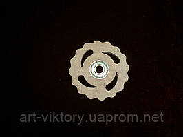 Спиннер игрушка круг (6,5 х 6,5 см), декор