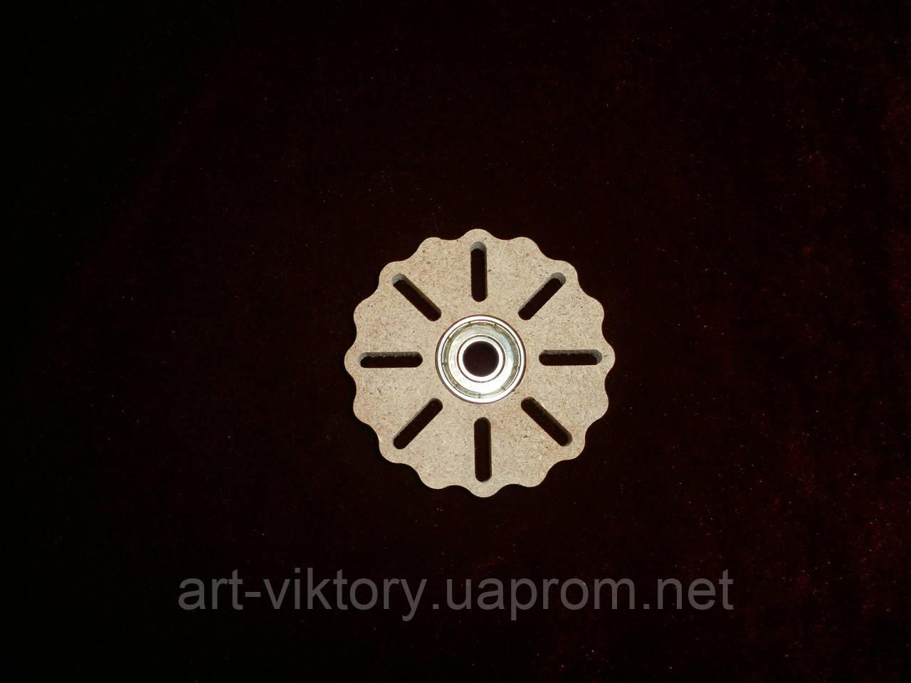 Спиннер игрушка круглый (6,5 х 6,5 см), декор