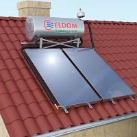 Термосифонная напорная система Eldom на 120 л.