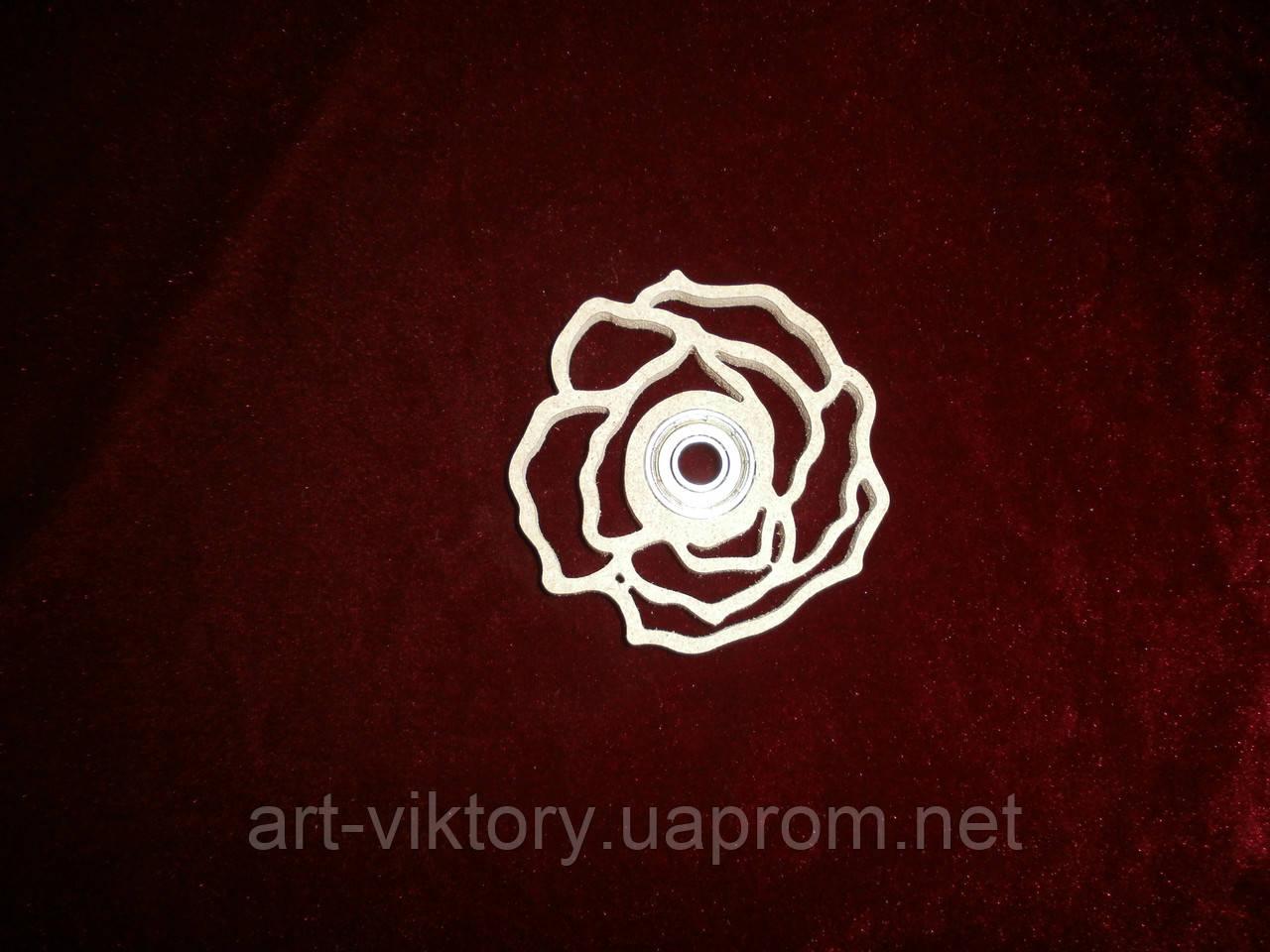 Спиннер игрушка роза (7,5 х 7,5 см), декор