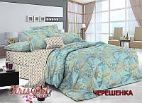 Двуспальный набор постельного белья 180*220 из Сатина №132AB KRISPOL™