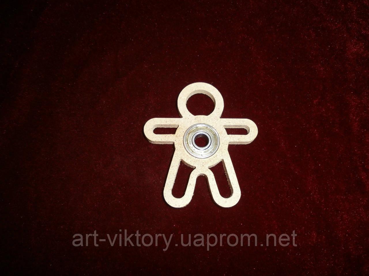 Спиннер игрушка человечек (7 х 8 см), декор