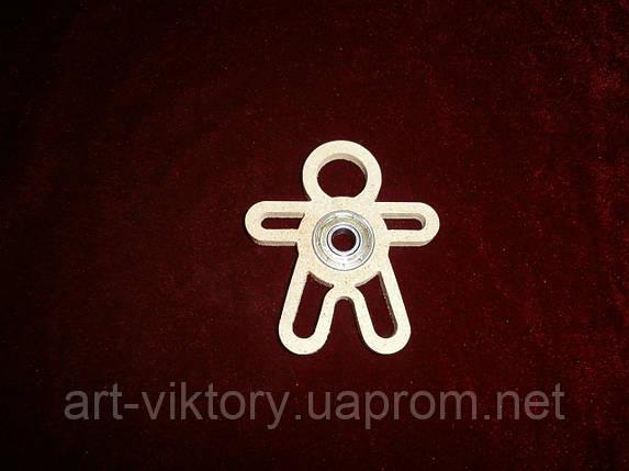 Спиннер игрушка человечек (7 х 8 см), декор, фото 2