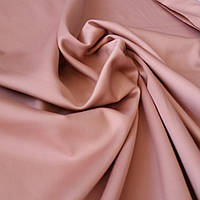 Сатин Люкс однотонный цвет какао (фраппе), ширина 240 см, фото 1