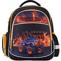 Рюкзак школьный ортопедический для мальчика Monster Truck  K17-510S Германия