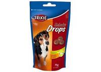 TRIXIE Дропс со вкусом шоколада для собак, 75г
