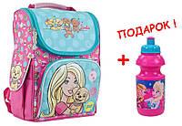 """Рюкзак школьный каркасный  Barbie 553265 H-11, ТМ """"1 вересня"""""""