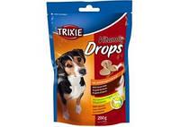 TRIXIE Дропс со вкусом бекона для собак, 200г