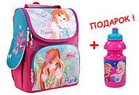 """Рюкзак школьный каркасный  Winx 553176, ТМ """"1 вересня"""""""