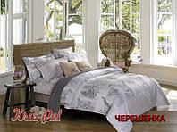 Двуспальный набор постельного белья 180*220 из Сатина №479AB KRISPOL™