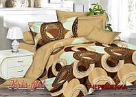 Двуспальный набор постельного белья 180*220 из Сатина №667 KRISPOL™