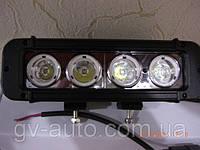 Светодиодная фара 40Вт. - 20 см. дальнего света LED GV 1040S - для квадроциклов. https://gv-auto.com.ua