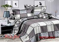 Двуспальный набор постельного белья 180*220 из Сатина №3985AB KRISPOL™