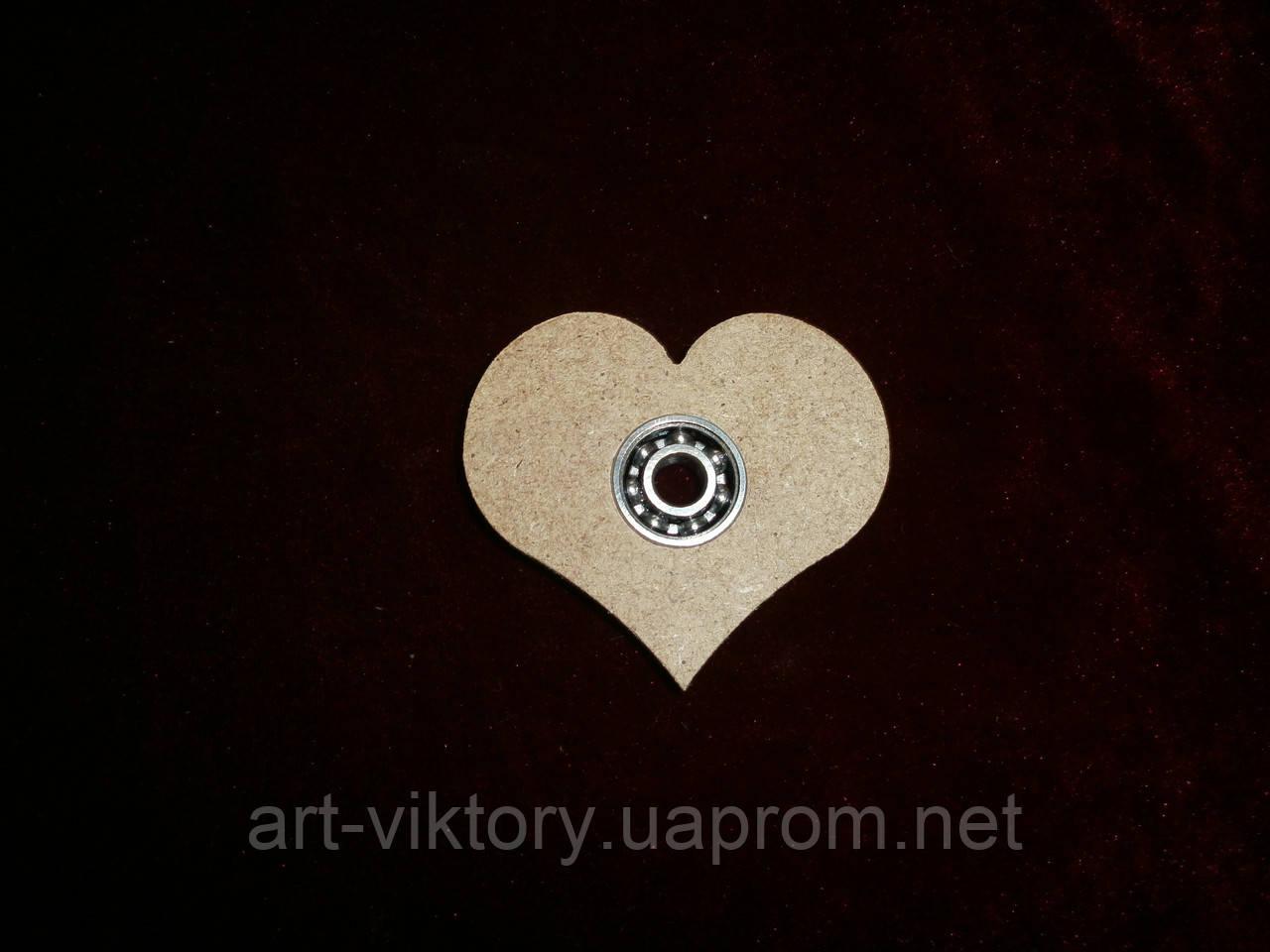 Спиннер игрушка сердце (6 х 5 см), декор