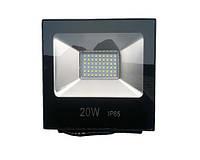 Прожектор LED 20w 6500K IP65 1600LM LEMANSO чёрный/ LMP11-21