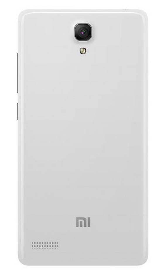 Xiaomi Задняя часть корпуса (крышка аккумулятора) Redmi Note 2 White