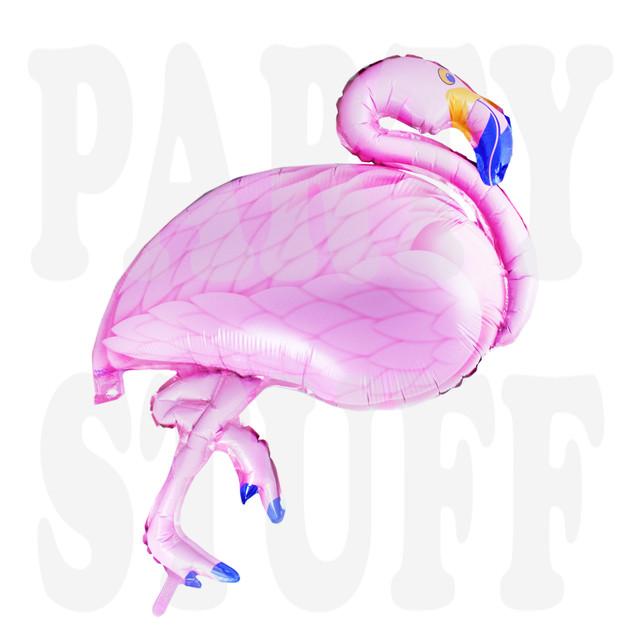 шар фламинго розовый