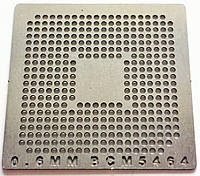 Трафарет BGA BCM5464, шар 0,6 мм