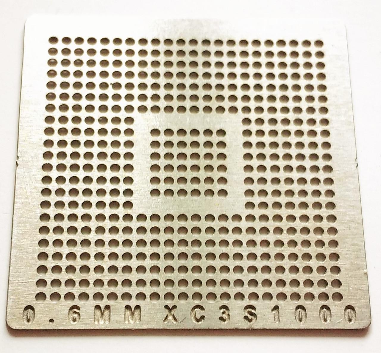 Трафарет BGA XC3S1000, шар 0,6 мм