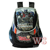 Школьный рюкзак для мальчика: цвет черный, синий, серый
