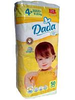 Подгузники DADA 4+Extra Soft макси+9-20 кг 50 шт 4+р.