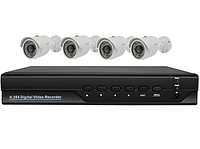 Домашний видеорегистратор на 4 камеры (6604 580 KIT HD)