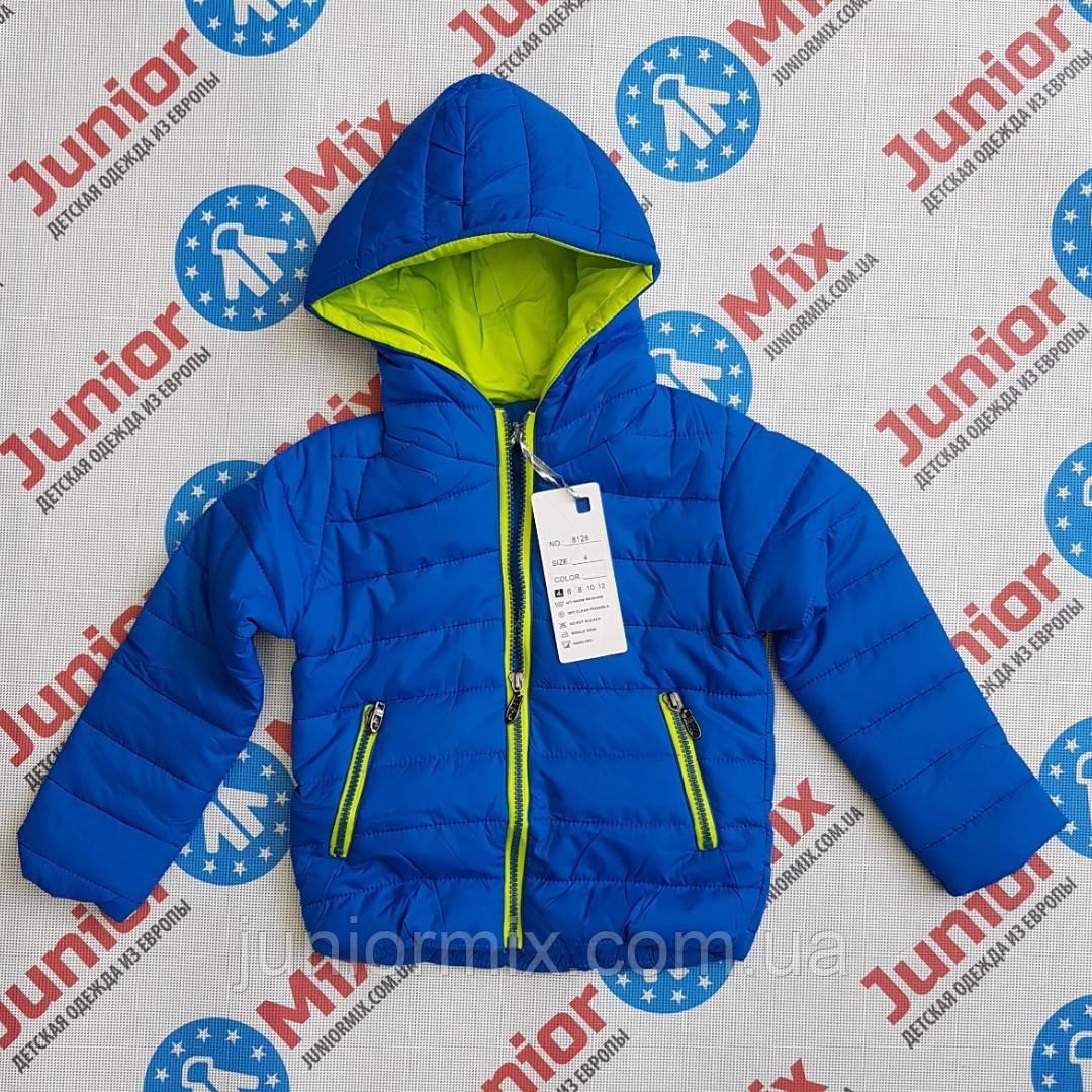 Детская демисезонная куртка для мальчика оптом