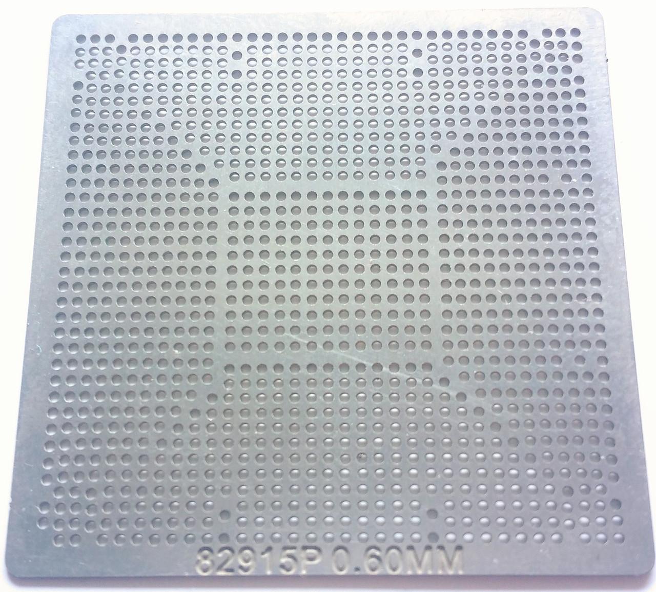 Трафарет BGA intel 82915P, шар 0,6 мм