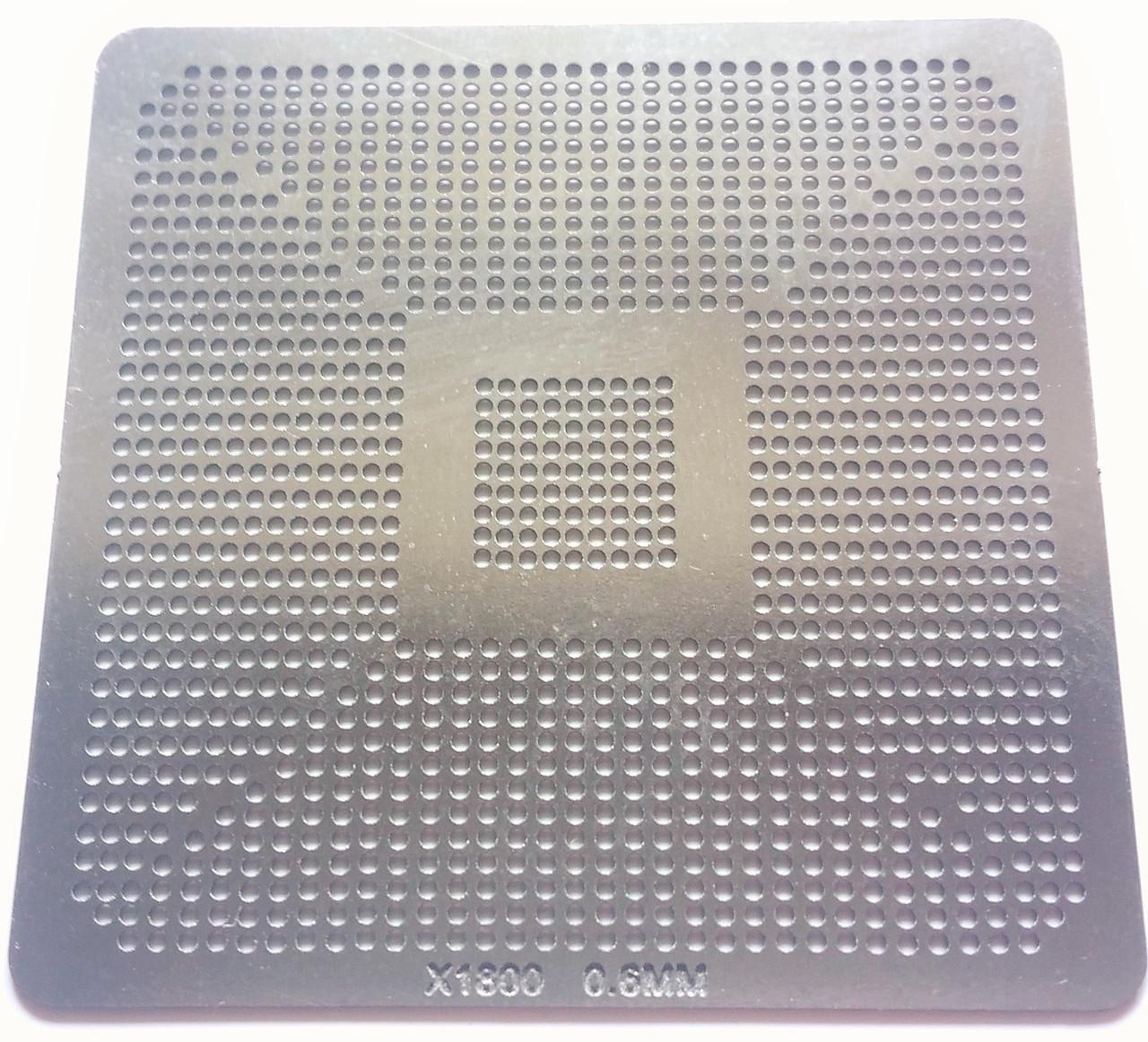 Трафарет BGA X1800, шар 0,6 мм