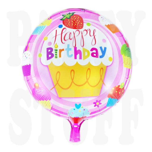 фольгированный шар с днем рождения