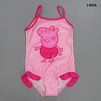 Купальник Peppa Pig для девочки. 116-122;  128-134 см